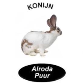 Alroda Puur Tam Konijn (245 gram)
