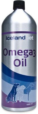 IcelandPets Omega-3 olie 1000 ml