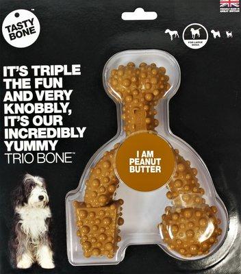 Tasty Bone Trio Peanut Butter (Large)