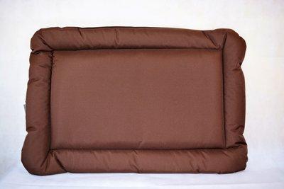 Pet Bed Kussen XL (104x74x5 cm) (Bruin)