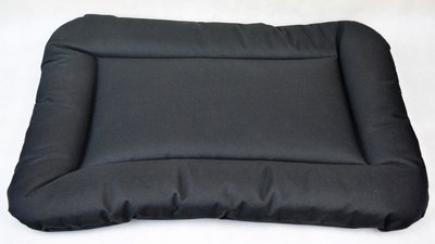 Pet Bed Kussen M (76x53x5 cm) (Zwart)